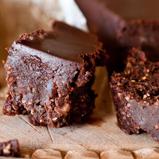 Chipotle Cacao Raw Brownies.