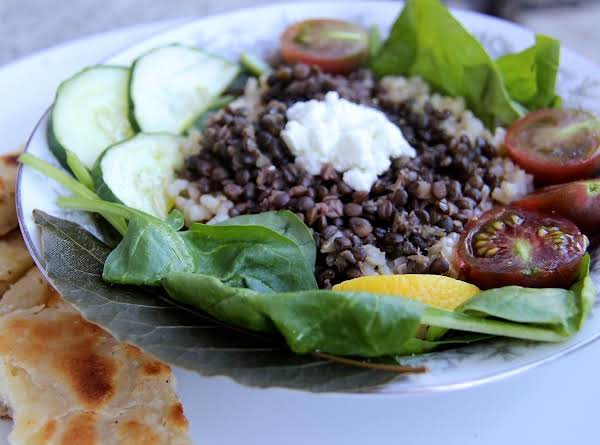 Traditional Greek Lentils-village Life Lentils Recipe