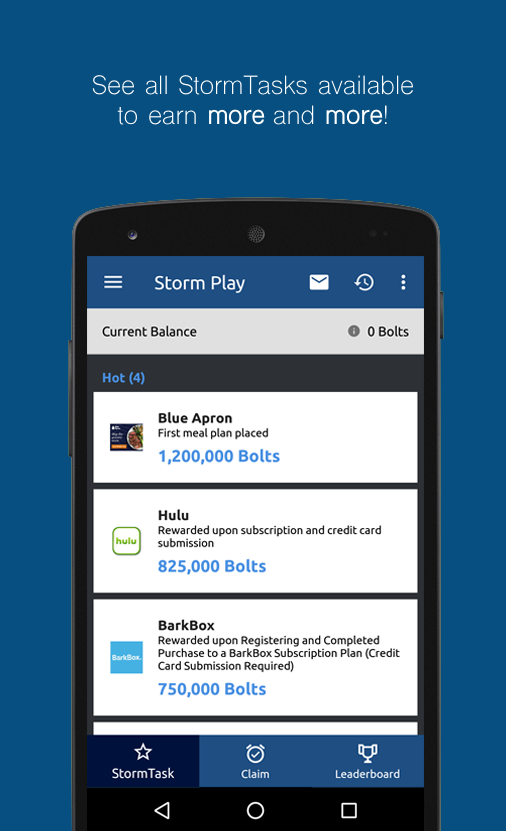 Storm Play - Earn Free Bitcoin- screenshot