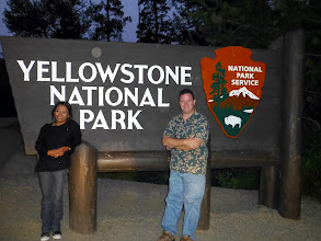 Photo: The timestamp on this photo is 5:40am; we left Cody early.