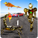 Scorpion Robot Transformation: Flying Car Wars icon