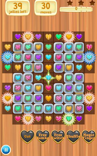 ハートクラッシュ ーかわいい無料3マッチパズル