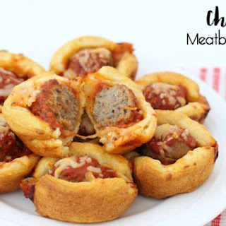 CHEESY MEATBALL BITES.