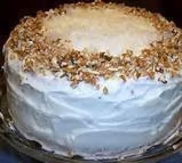 ITALIAN CREAM CAKE (SALLYE)