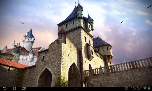 Castle 3D Pro live wallpaper Screenshot