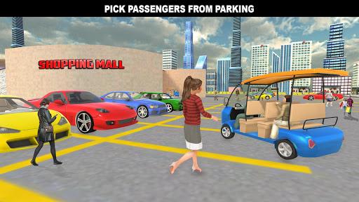 Download Shopping Mall Rush Taxi: City Driver Simulator MOD APK 2