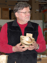 Photo: Richard Webster made a couple of bowls from a poplar tree.