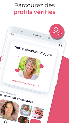 DisonsDemain - Site de rencontre pour les 50+ 5.33.0 Screenshots 2