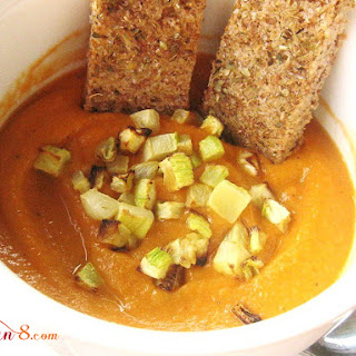 Spicy Zucchini Pepper Soup