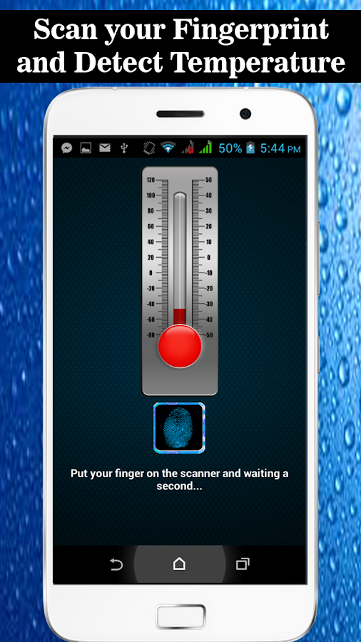 Fever Check Thermometer Prank- screenshot
