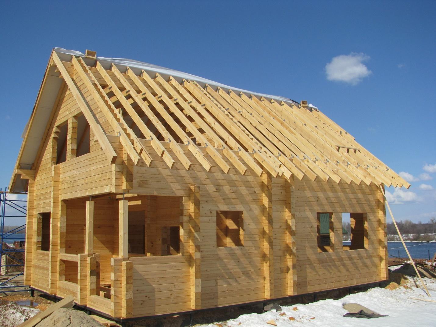 Дом из бруса своими руками без опыта строительства. Как построить?