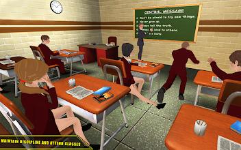 High School Girl Simulator 2018 Happy Family Games screenshot thumbnail