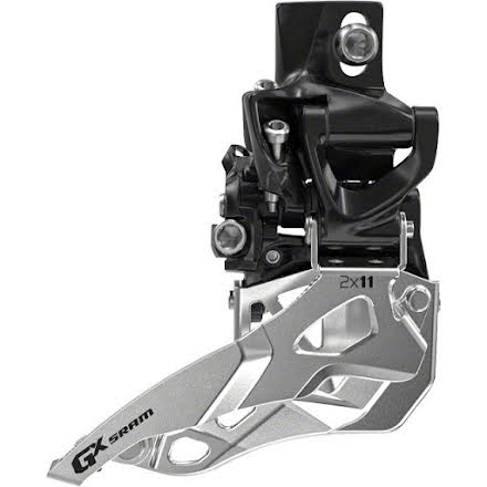SRAM X0 2x10 38//36T Hi Clamp 31.8 mm Dual Pull Front Derailleur