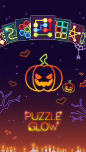 Puzzle Glow : Brain Puzzle Game Collection 9