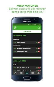 Fotbollskanalen screenshot 3
