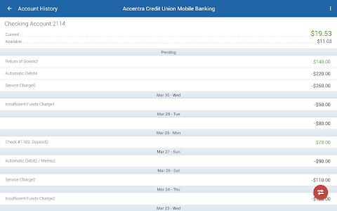 Accentra Credit Union Mobile screenshot 6