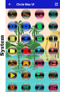 Circle Max - Icon Pack Screenshot