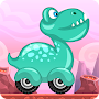 Racing game for Kids - Beepzz Dinosaur APK icon