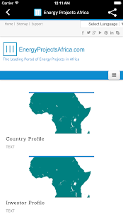 Energy Projects Africa- screenshot thumbnail