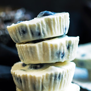 Lemon & Blueberry Frozen Greek Yogurt Bites Recipe