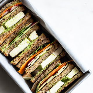 Green Goddess Club Sandwich.