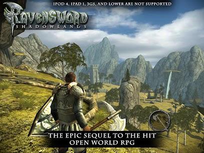 Ravensword: Shadowlands 3d RPG (MOD, Paid/Unlimited Money) v21 4