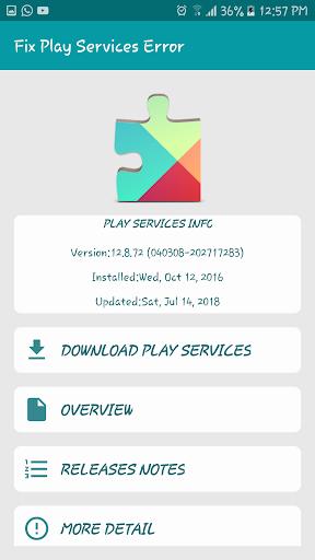 Download Fix Play Store & Google Play Services Error Apk