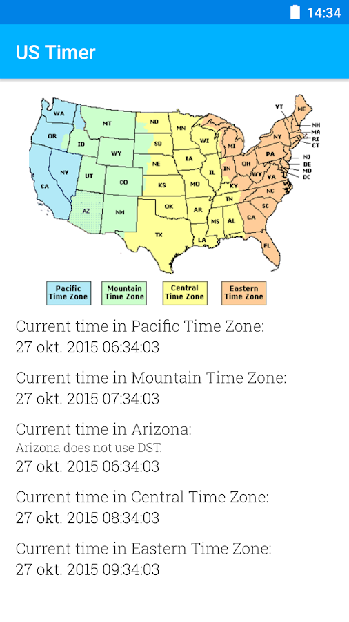 US Timezones Clock Android Apps On Google Play - Current time in central time zone