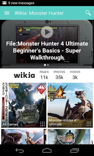 Wikia:魔物獵人