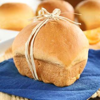 Sweet Potato Mini Loaves with Orange Cinnamon Honey Butter