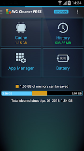 AVG Cleaner & Battery Saver - screenshot thumbnail