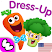 Funny Food DRESS UP games for toddlers and kids!