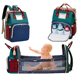 Rucsac extensibil pentru bebelusi, multifunctional cu port USB