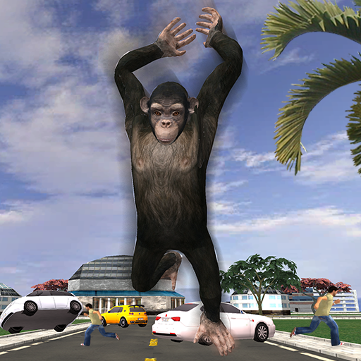 Angry Apes VS Monster : City Battle