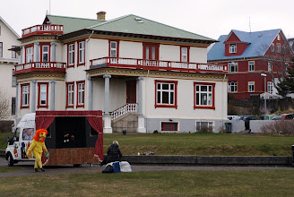 "Photo: A very nice house near Tjörnin (""The Pond"")."