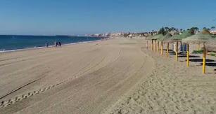 Playa de Roquetas de Mar.