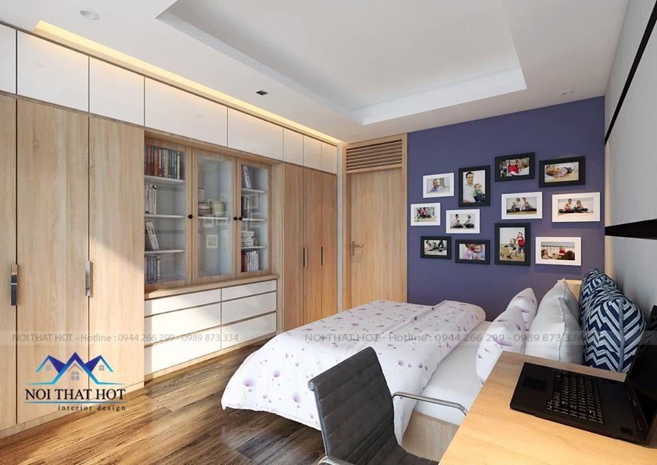 thiết kế nội thất phòng ngủ thông minh thiết kế chung cư