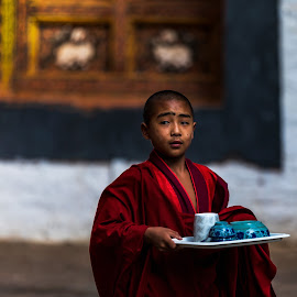 Serve the lord in thy youth by Ketan Vikamsey - People Street & Candids ( thimpu, canon5dmarkiv, pic of the day, canonusa, wonderful places, tashichho dzong, bhikkhu, lonelyplanet, lonelyplanetmagazineindia, natgeohd, bhutan tourism, monk, canonphotography, natgeo, photo of the day, kv kliks, buddhist, natgeotravel, bhutan, gross national happiness, travel the world pix, bbctravels, ketan vikamsey )