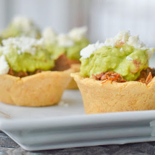 Crockpot Mexican Beef In Masa Cups