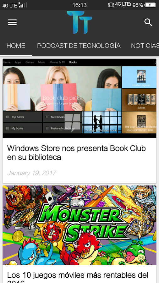 TendenciasTech- screenshot