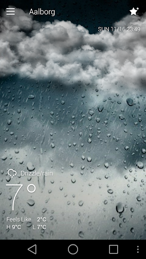 Classic GO Weather Background screenshot 6