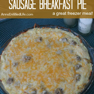 Sausage Breakfast Pie