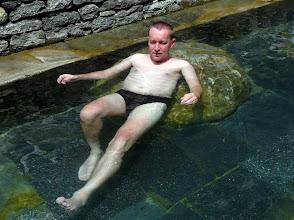 Photo: ... um den Muskelkater in den heißen Quellen zu bekämpfen.
