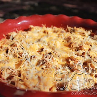 "Mexican Chicken and Cauliflower ""Rice"" Casserole Recipe"