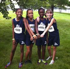 Photo: Jolani, Autumn, Zahria & Cayden4 x 400 team - Jr Olympics