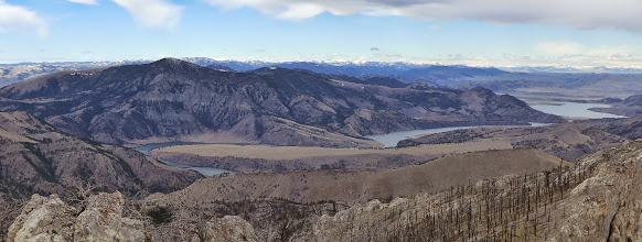 Photo: Lower Holter Lake on right