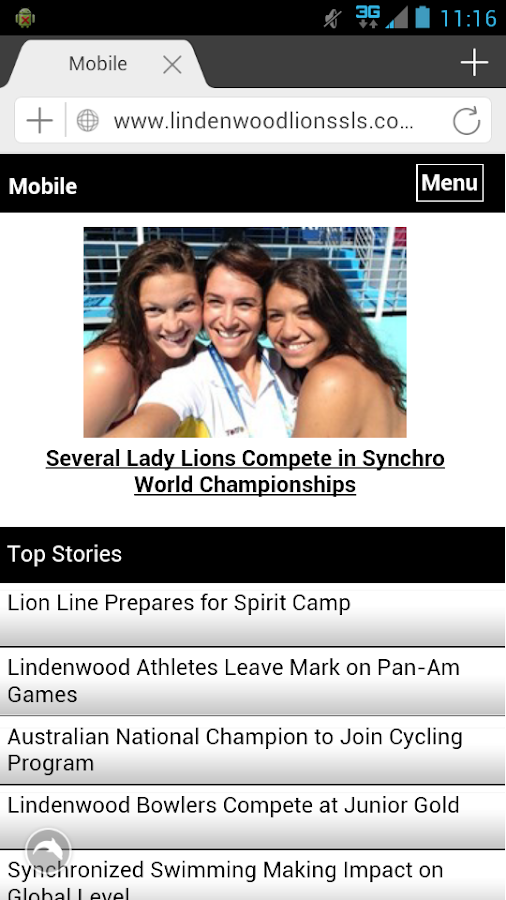 LindenwoodU- screenshot