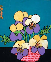 Photo: Pansies 9 x 11