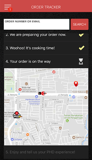 Pizza Hut Delivery Indonesia  screenshots 5