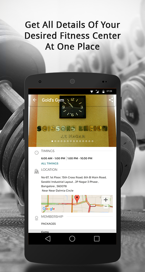 Gympik Find Fitness & Trainers- screenshot